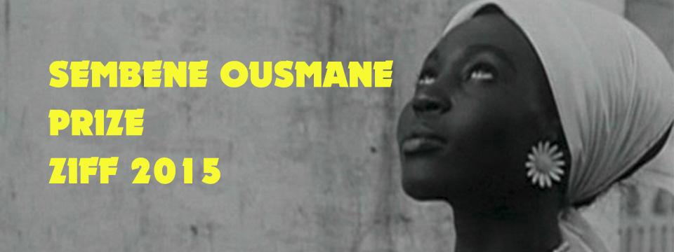 SEMBENE OUSMANE PRIZE 2015